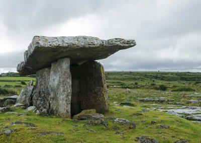 Poulnabrone Dolmen, Ancient Portal Tomb